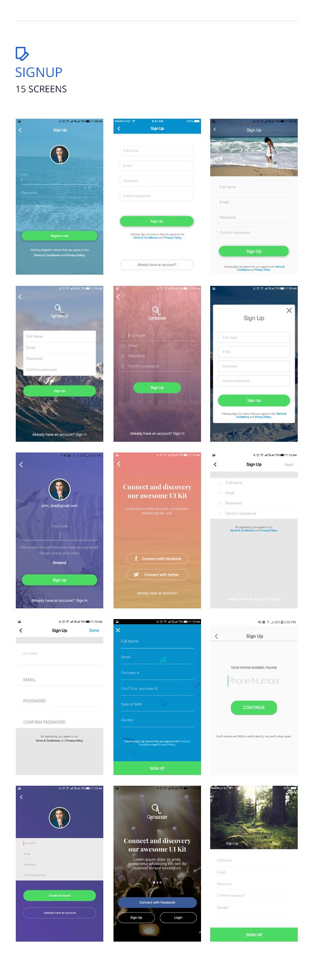 Antiqueruby React Native Material Design UI Components
